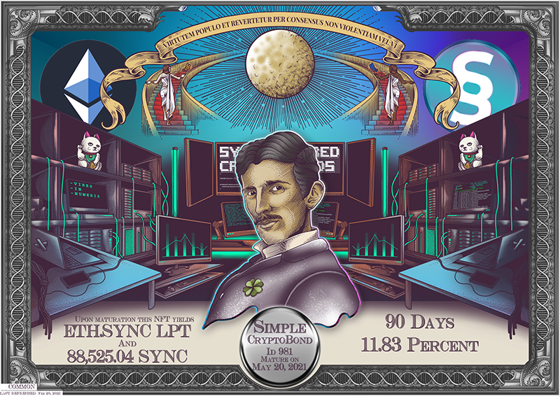 SYNC_CryptoBond_NFT_ID_981