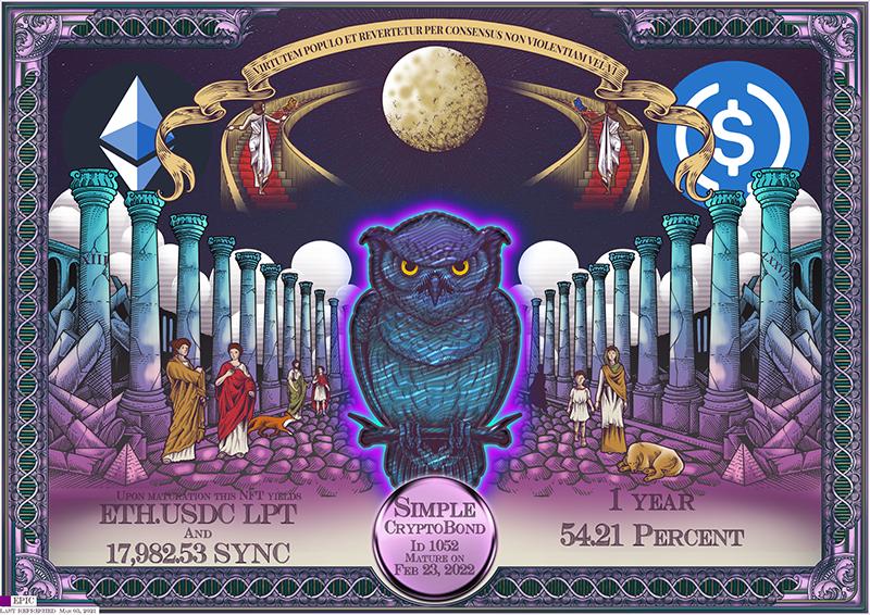 SYNC_CryptoBond_NFT_ID_1052