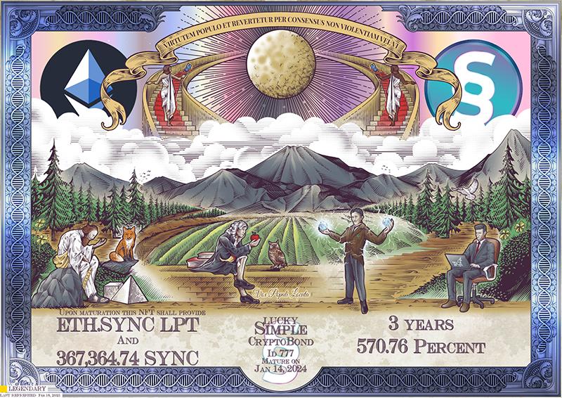 SYNC_CryptoBond_NFT_ID_777