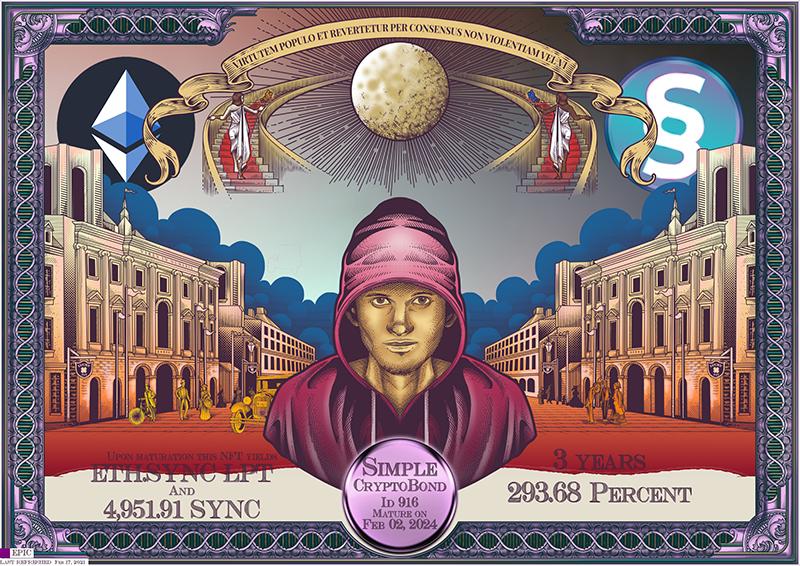 SYNC_CryptoBond_NFT_ID_916