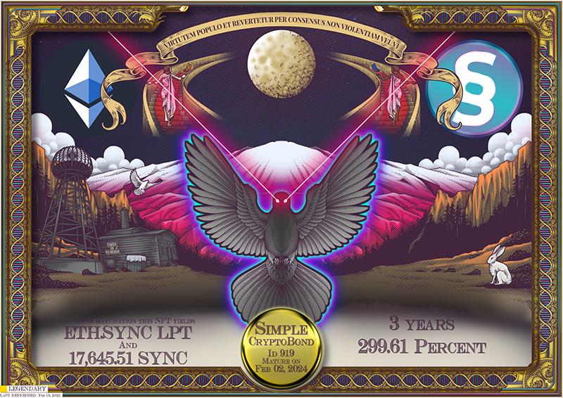 SYNC_CryptoBond_NFT_ID_919